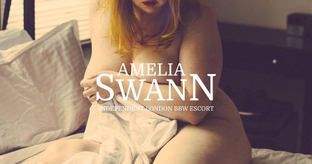 Amelia Swann — Luxury BBW companion // London // BDSM & GFE